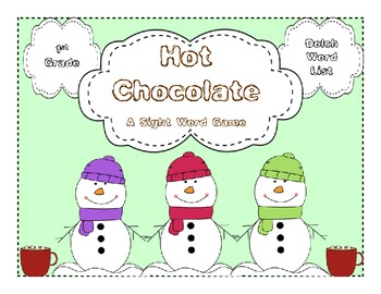 Hot Chocolate - 1st Grade