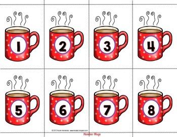 Hot Chocolate Math Pack