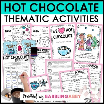 Hot Chocolate! {A Cross-Curricular Activity Pack}