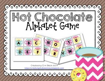 Hot Chocolate Alphabet Game