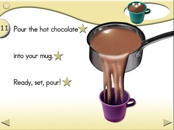 Hot Chocolate - Animated Step-by-Step Recipe - Regular
