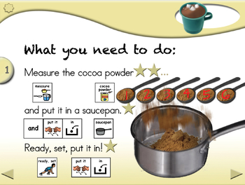 Hot Chocolate - Animated Step-by-Step Recipe PCS
