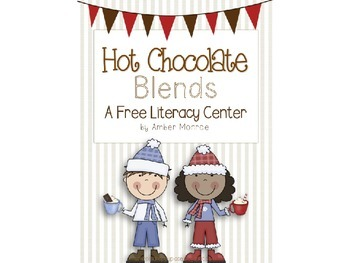 Hot Chocolate Blends {A Free Literacy Center}