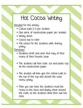 Hot Chocolate Book Review