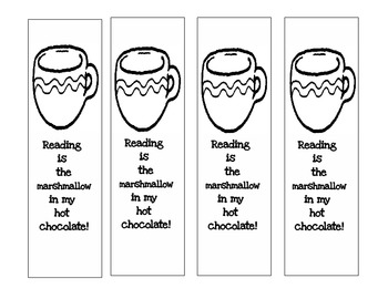 Hot Chocolate Bookmarks