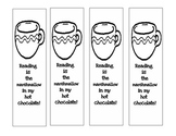Hot Chocolate Bookmarks
