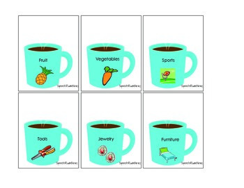 Hot Chocolate Categories: Preschool Speech Therapy