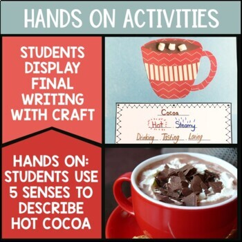 Winter Poetry - Hot Chocolate Cinquain | Lessons | Worksheets | Craft