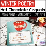 Winter Poetry - Hot Chocolate Cinquain | Lessons | Workshe