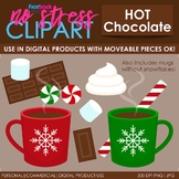 Hot Chocolate Clip Art (Digital Use Ok!)