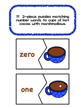 Hot Chocolate (Cocoa) Numbers - Winter Counting Fun