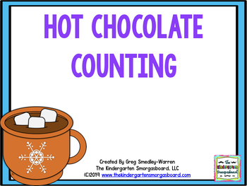 Hot Chocolate Counting:  A Common Core Math Creation