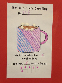 Hot Chocolate Counting Page