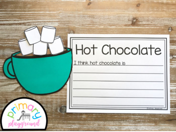 Hot Chocolate Craft With Writing Prompts/Pages