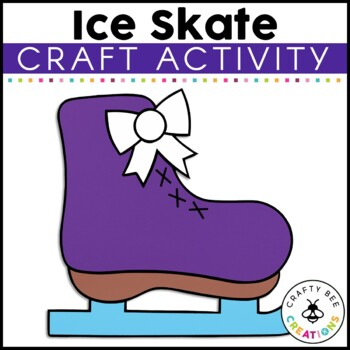 Ice Skate Cut and Paste