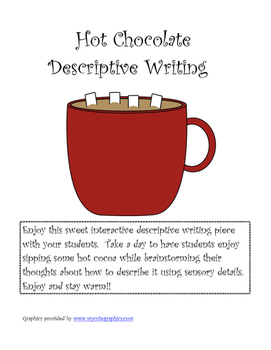 Hot Chocolate Descriptive Writing Activity