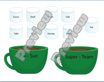 Hot Chocolate Guide Word Practice