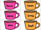 Hot Chocolate: High Frequency Words