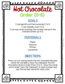Hot Chocolate (Level 1) Order (0-5)