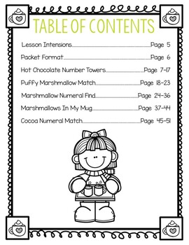 Hot Chocolate (Level 2) 5 Number Lessons Bundle