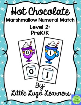 Hot Chocolate (Level 2) Marshmallow Numeral Match