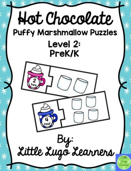 Hot Chocolate (Level 2) Puffy Marshmallow Puzzles