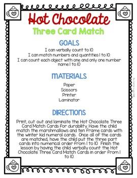 Hot Chocolate (Level 3) Three Card Match