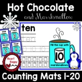 Hot Chocolate & Marshmallow Counting Mats 1-20