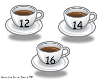 Hot Chocolate Marshmallow Math