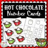 Preschool Winter: Hot Chocolate Marshmallow Number Counting Matching Cards