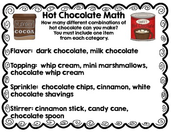 Hot Chocolate Math