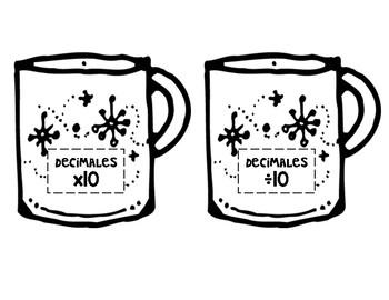 Hot Chocolate Math Mugs