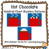 Hot Chocolate Mug Hundred Chart Mystery Pictures with Number Cards