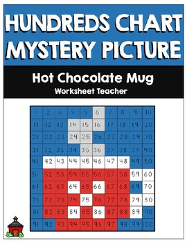 Hot Chocolate Mug Hundreds Chart Mystery Picture