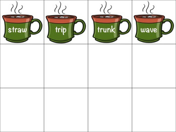 Multiple Meaning Words Hot Chocolate Match-Up