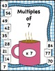 Hot Chocolate Multiplication; Posters, Mutliples Craft, & Flash Cards