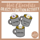 Hot Chocolate Object/Function Activity