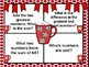 Hot Chocolate Place Value Math Mats - Includes Self-Check QR Codes