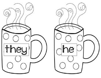 Hot Chocolate Pronoun Matching