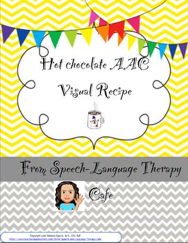 Hot Chocolate Recipe AAC Visual