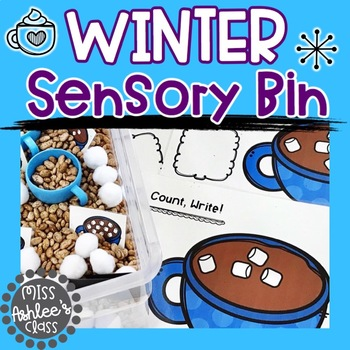 Sensory Bin Activities | Winter Sensory Bin