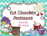 Hot Chocolate Sentences  {Pocket Chart Stations}