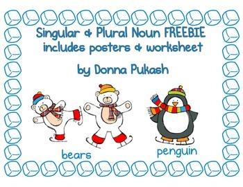Hot Chocolate Singular & Plural Nouns FREEBIE