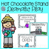 Hot Chocolate Stand Dramatic Play