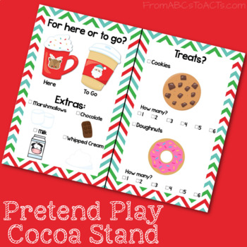 Hot Chocolate Stand Dramatic Play Center