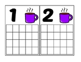 Hot Chocolate Ten Frame Activity (Numbers 1-20)