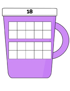 Hot Chocolate Tens Frames (1-20)
