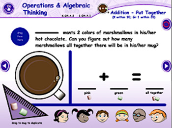 Hot Chocolate Theme - Traditional Math & Language Arts - Smart Notebook