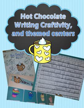 Hot Chocolate Themed Writing Craftivity and Math and Readi