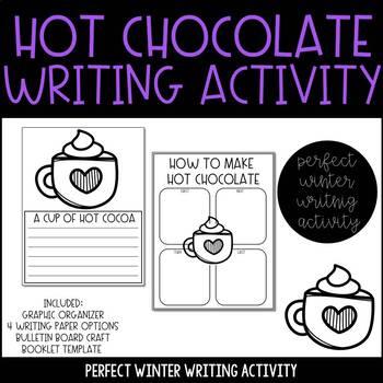 Hot Chocolate Winter Writing Activity